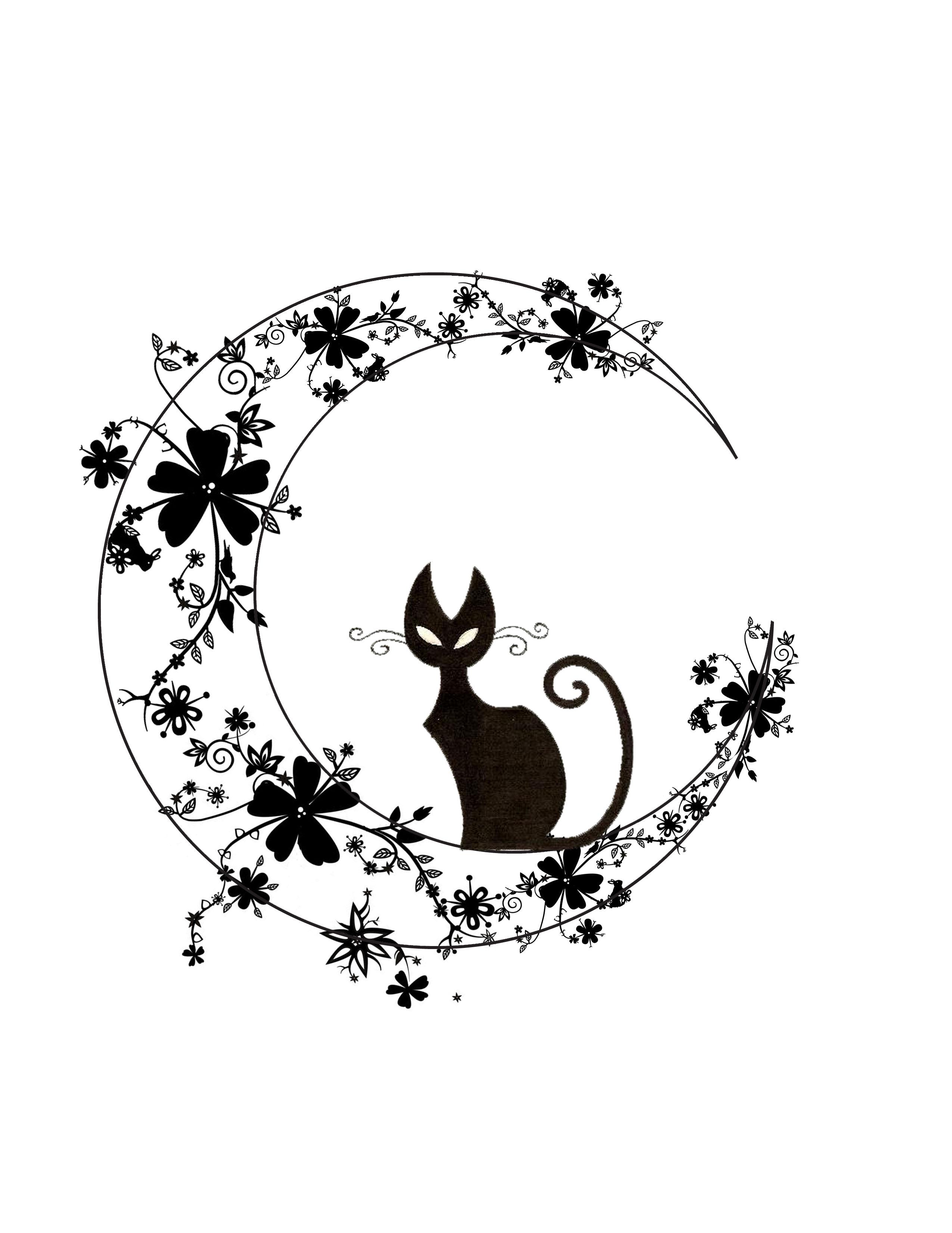 2550x3300 Black Cat Blackbar Crooked Letter Films Black