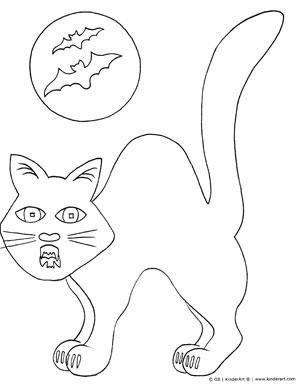 300x390 Halloween Cat