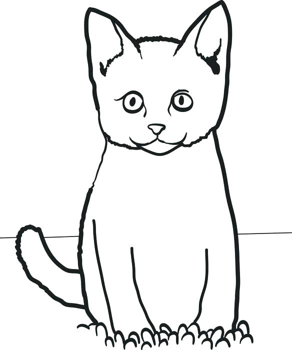 584x700 Halloween Cats Coloring Pages Cat Wearing Hat Join The Dots