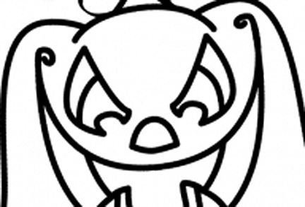 432x293 How To Draw Halloween Characters