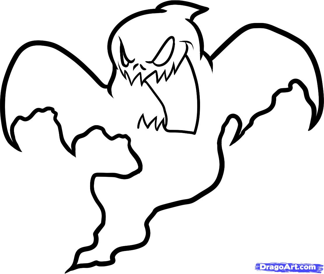 1111x941 Halloween Ghost How To Draw A Halloween Ghost, Halloween Ghost
