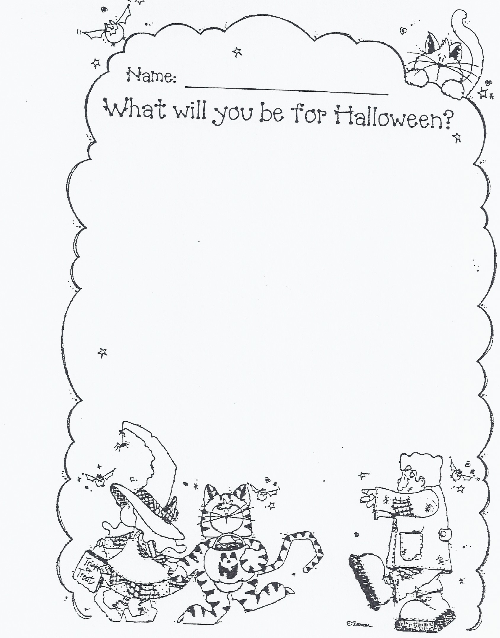 halloween drawing activities at getdrawings com free for personal