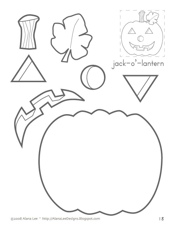 612x792 Jack O' Lantern Sequencing, Following Directions, Position Words