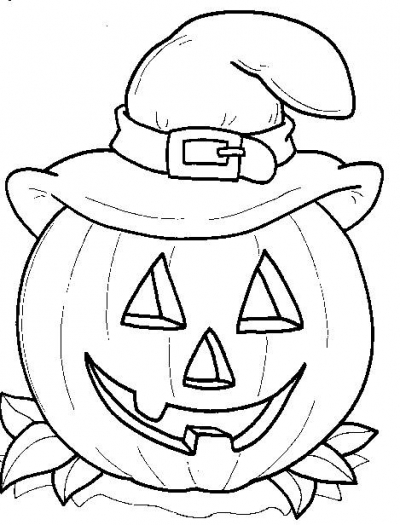Halloween Drawing For Children