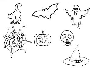 300x225 Halloween Drawing Ideas For Kids Fun For Christmas