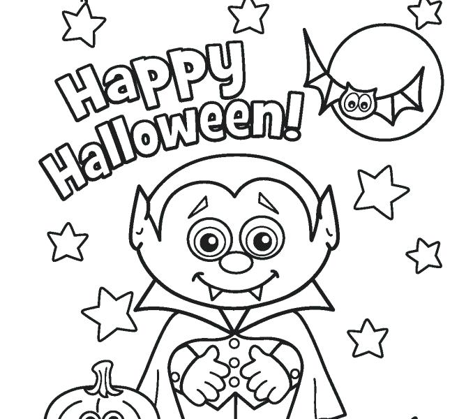 678x600 Halloween Drawing Pages