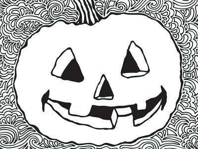 400x300 Pumpkin Drawing Pumpkin Drawing Meditation Halloween Pumpkin