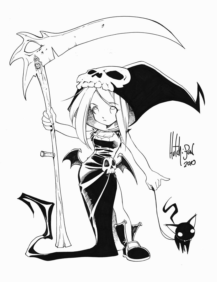 835x1076 Halloween Girl