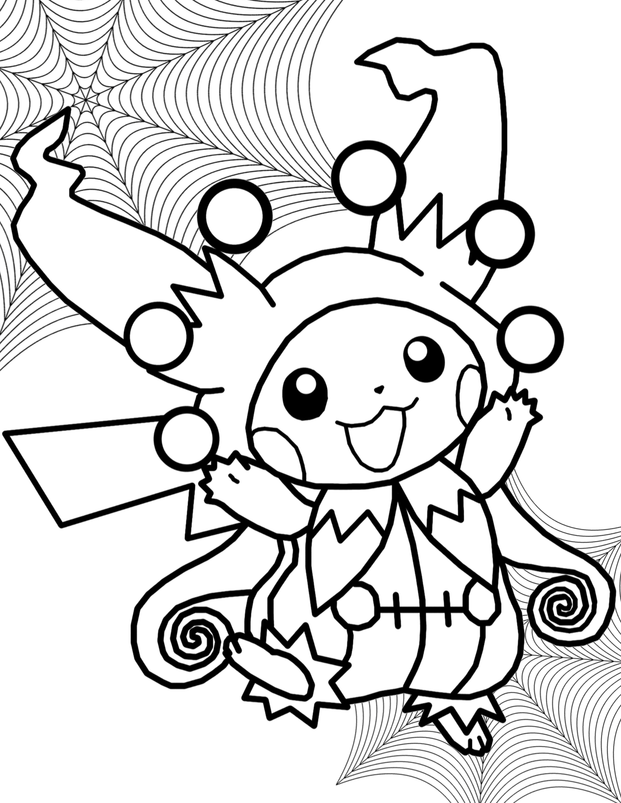 1275x1650 Pokemon Halloween Coloring Pages Colouring For Snazzy Draw Print