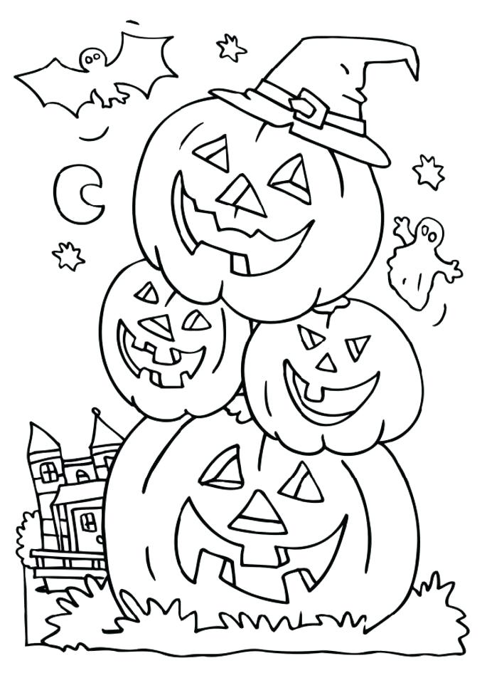 678x959 Free Coloring Pages Halloween Cute Coloring Pages For Sweet Draw
