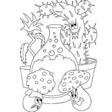 220x220 Halloween Monsters Coloring Pages