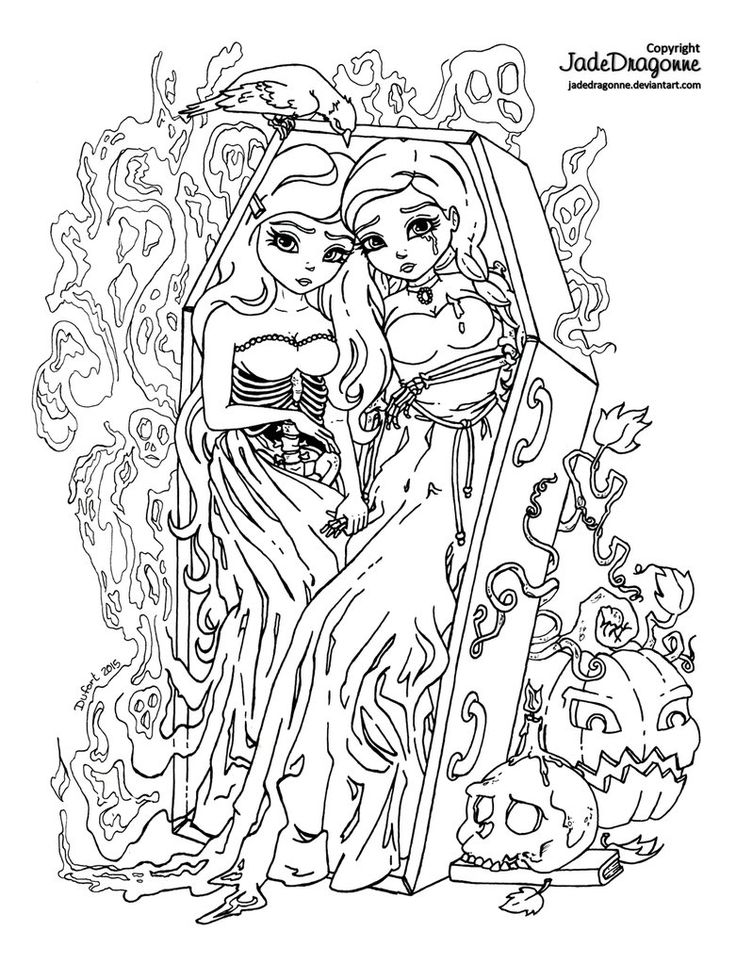 736x963 Coloring Contest Pages 58 Best Fall Halloween Coloring Pages