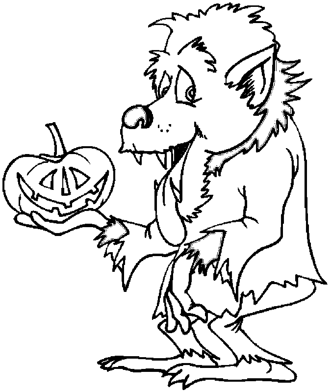 675x799 How To Draw Werewolf By Hands For Kids, Werewolf Drawing