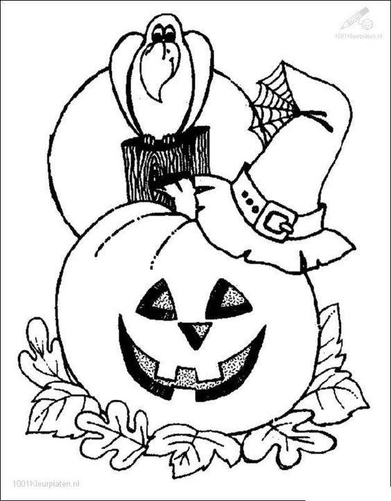 Halloween Drawing Pumpkin