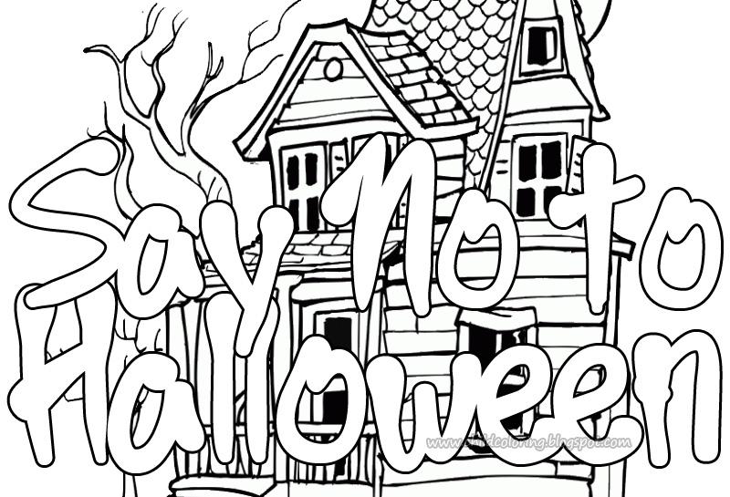 800x545 Halloween Print ~ Child Coloring