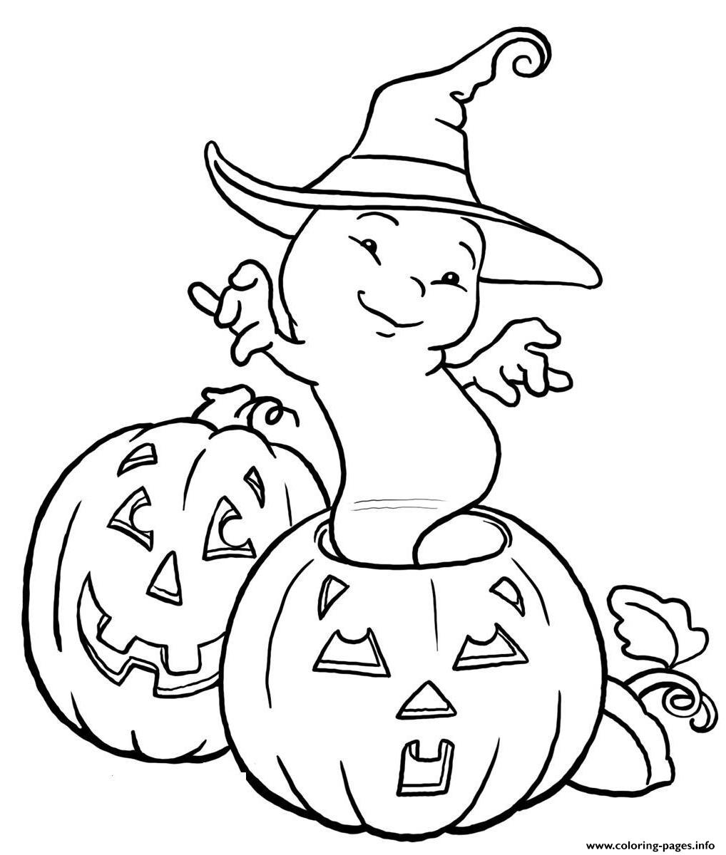 1018x1200 Halloween Ghost And Pumpkin S Kidseade Coloring Pages Printable