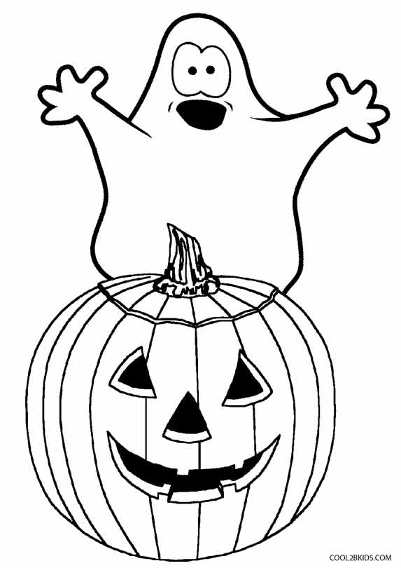 573x810 Printable Ghost Coloring Pages For Kids Cool2bkids