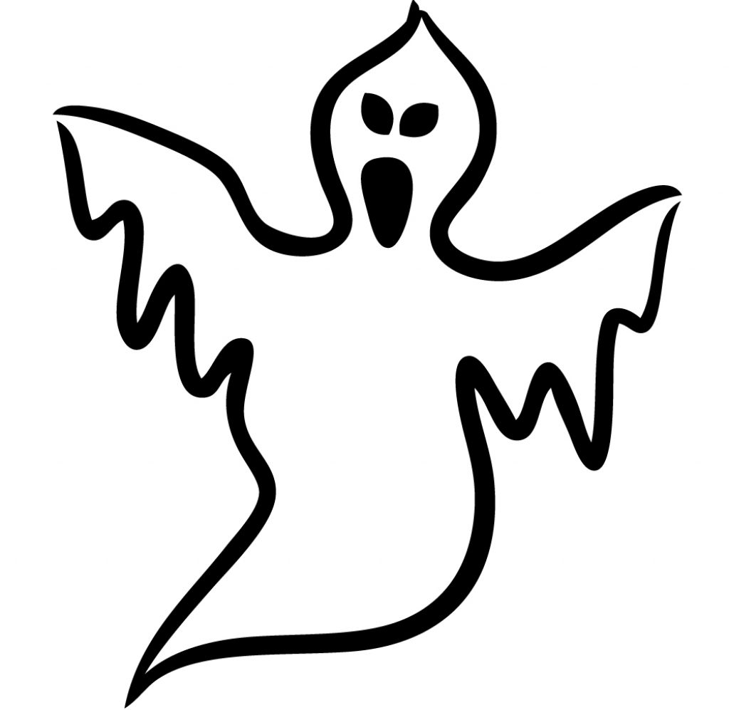 1024x997 Drawing Ideas For Halloween How To Draw A Halloween Ghost Cartoon