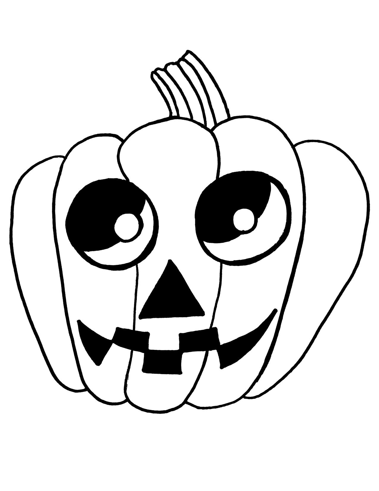 1275x1650 poketo blog last minute halloween costumes free mask downloads - Halloween Line Drawings