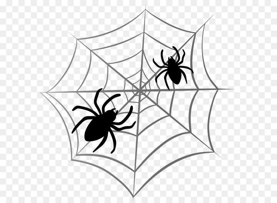 900x660 Spider Web Halloween Clip Art