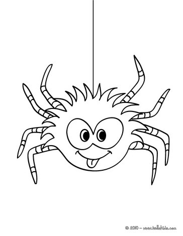 364x470 Halloween Spider Coloring Pages Spider Coloring Pages 14