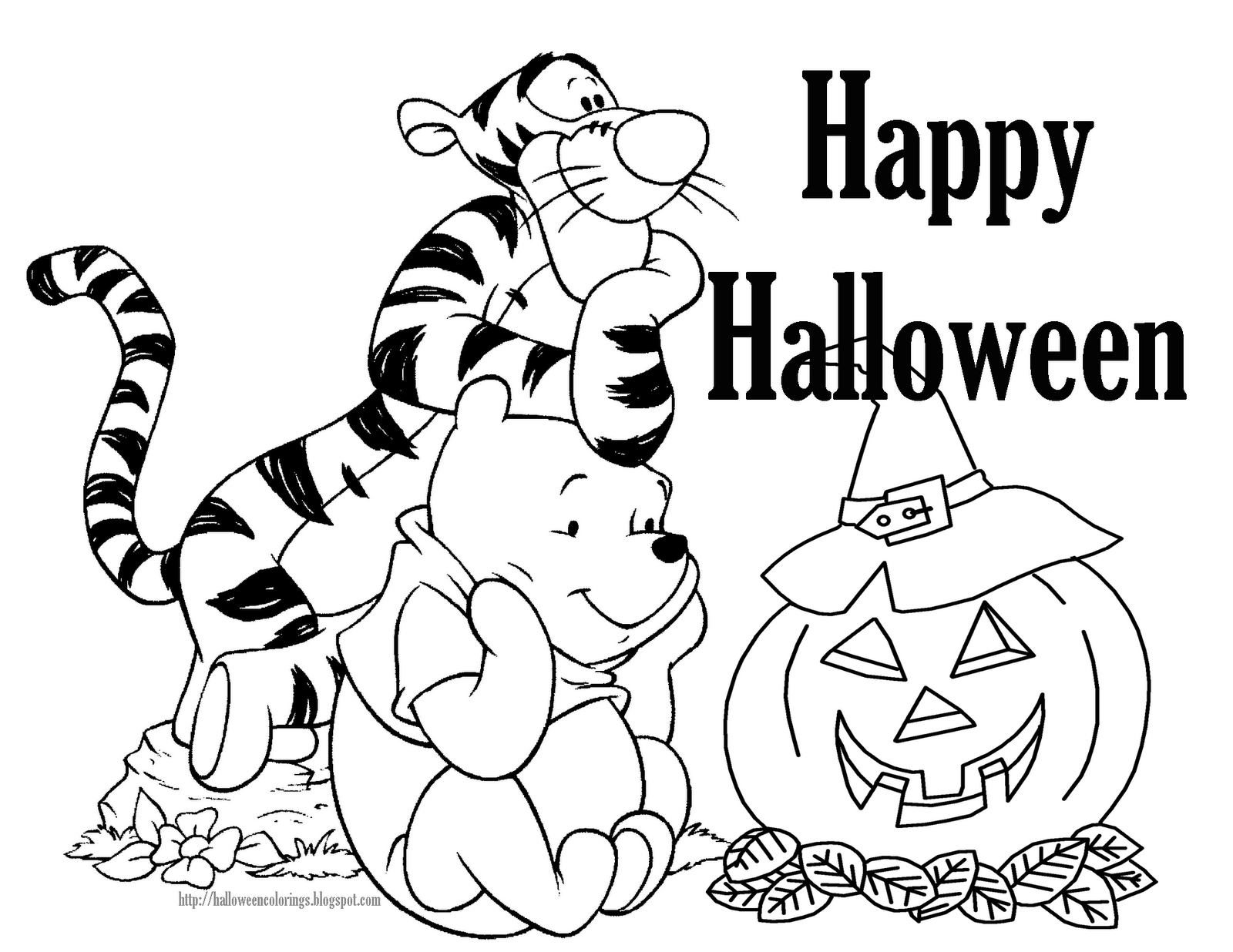1600x1236 Easy^ Halloween Coloring Pages To Draw, Print, Free Download