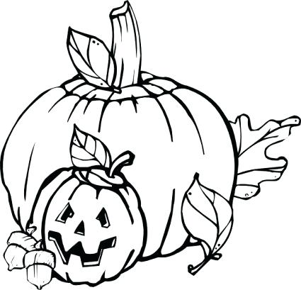 425x409 Halloween Themed Coloring Pages Children Of All Ages Will Have Fun