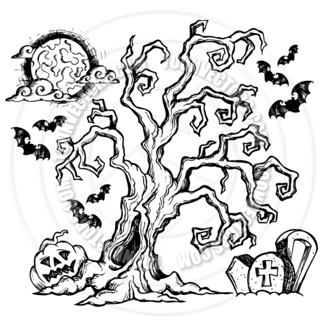 460x460 Halloween Themed Drawings Fun For Christmas