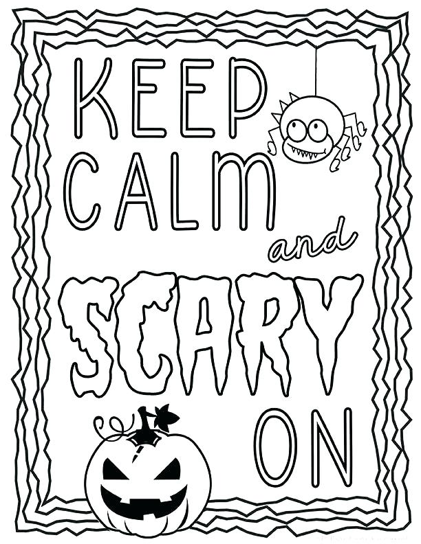 612x792 Printable Coloring Pages Halloween A Coloring Pages Printable