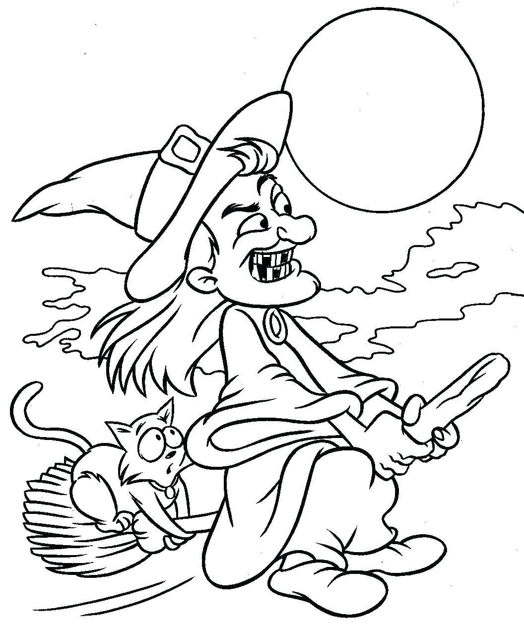 1056x1264 Coloring Halloween Themed Coloring Pages