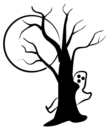 431x514 Halloween Tree Png Transparent Image Png Mart