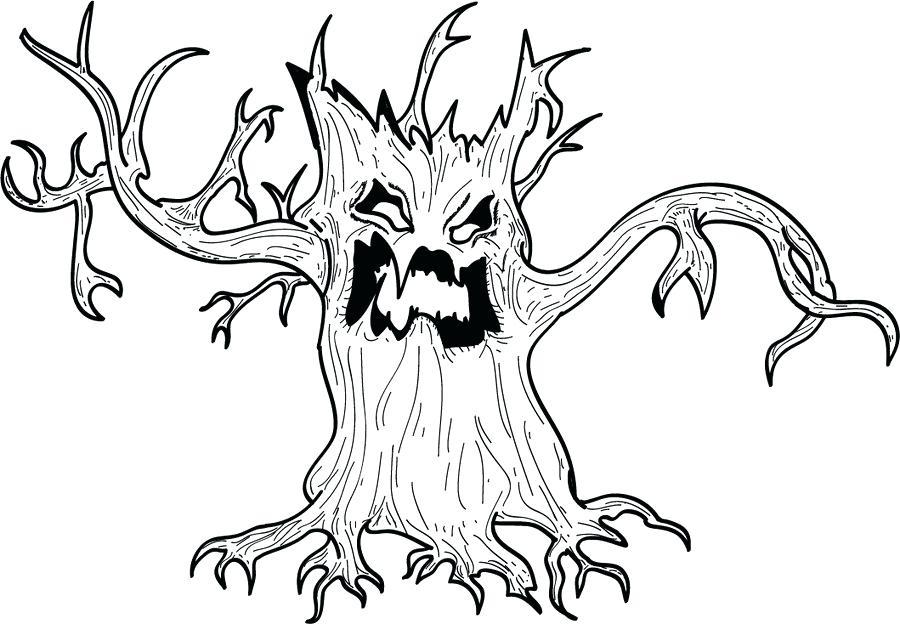 900x624 Spooky Halloween Tree Spooky Tree Diy Spooky Halloween Tree Prop