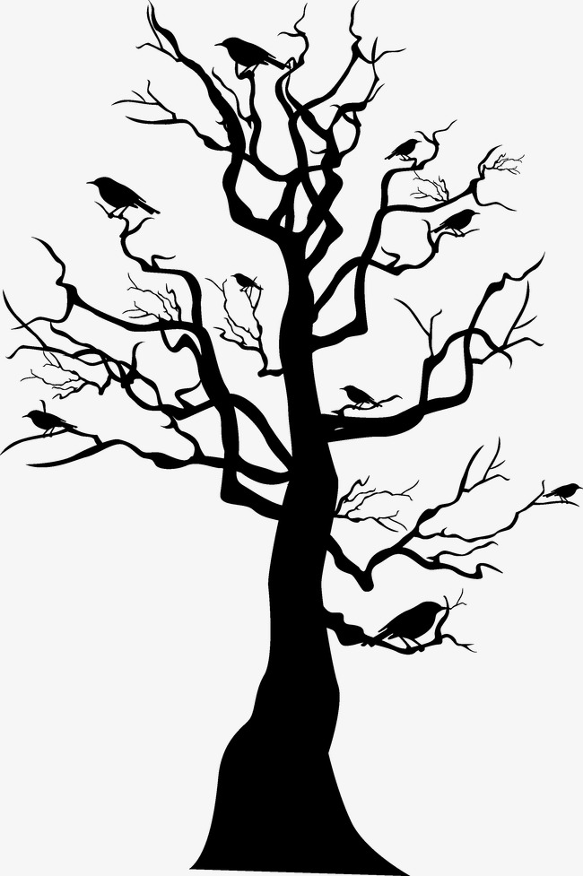 650x977 Black Halloween Tree, Halloween, Black Tree, Trees Png And Vector