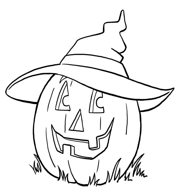 600x650 Halloween Colouring Pages For Kids Free Printables