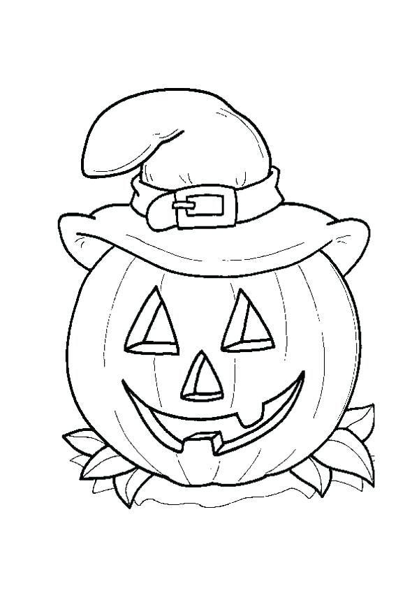 600x849 Halloween Coloring Pages Witch 1table.co