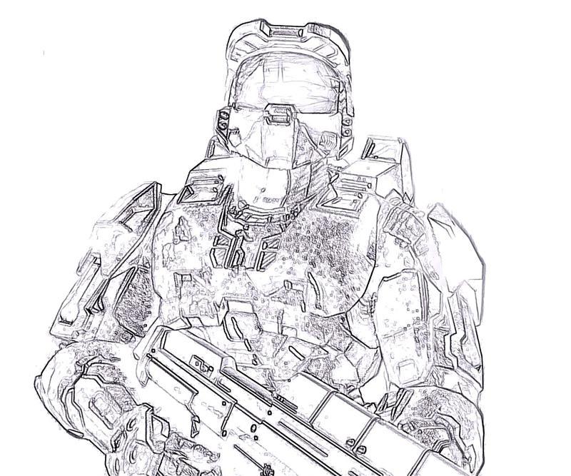 800x667 Halo 4 Master Chief Action Yumiko Fujiwara
