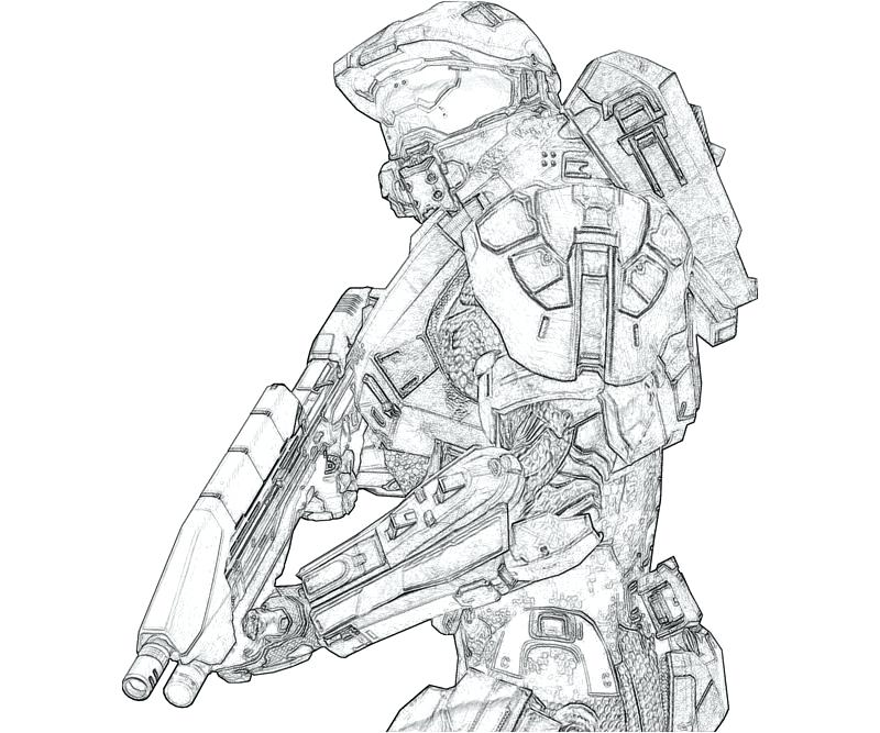 800x667 Halo Coloring Pages Complete Halo Coloring Pages Print Number