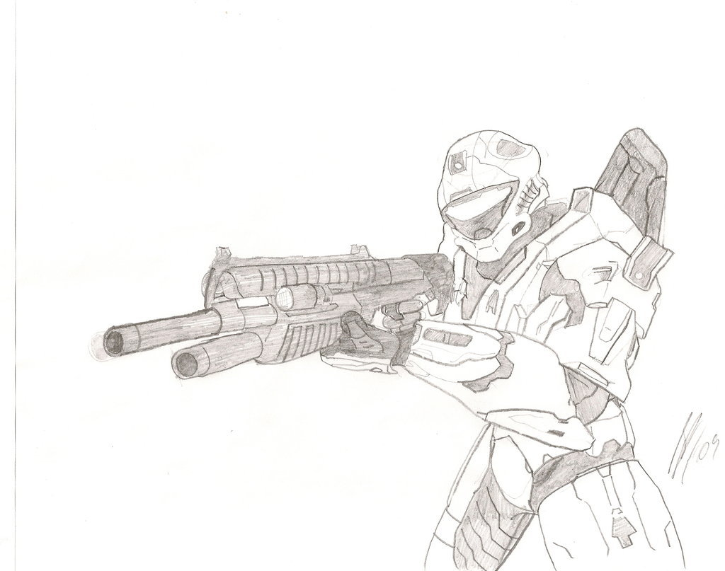 1024x807 Halo 3 Recon Variant By Sfritts10
