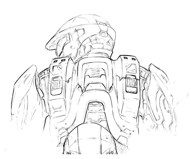800x667 Halo Coloring Pages Home Gt Halo 4 Gt Halo 4 Trooper Actions