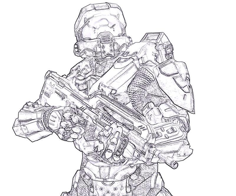 800x667 Halo 4 Master Chief Skill Yumiko Fujiwara