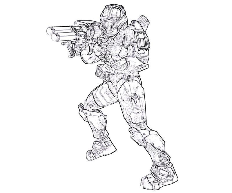 800x667 Halo 4 Rookie Armor Yumiko Fujiwara
