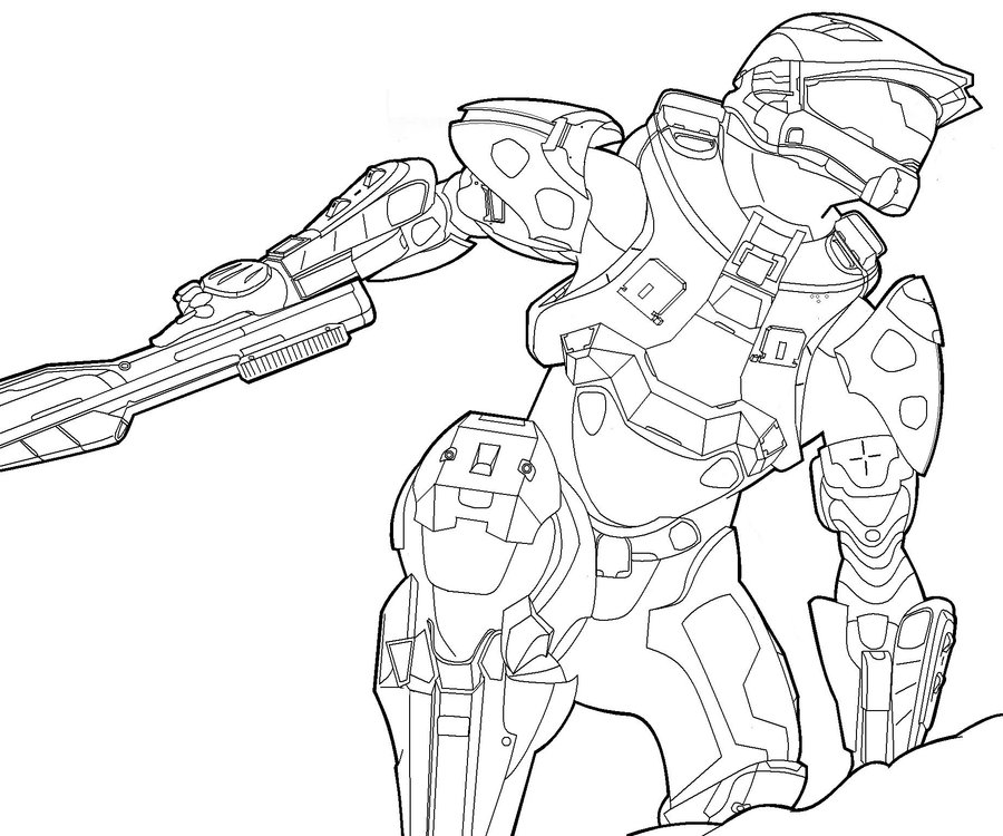 900x750 Master Chief By Oreckk On Halo Master
