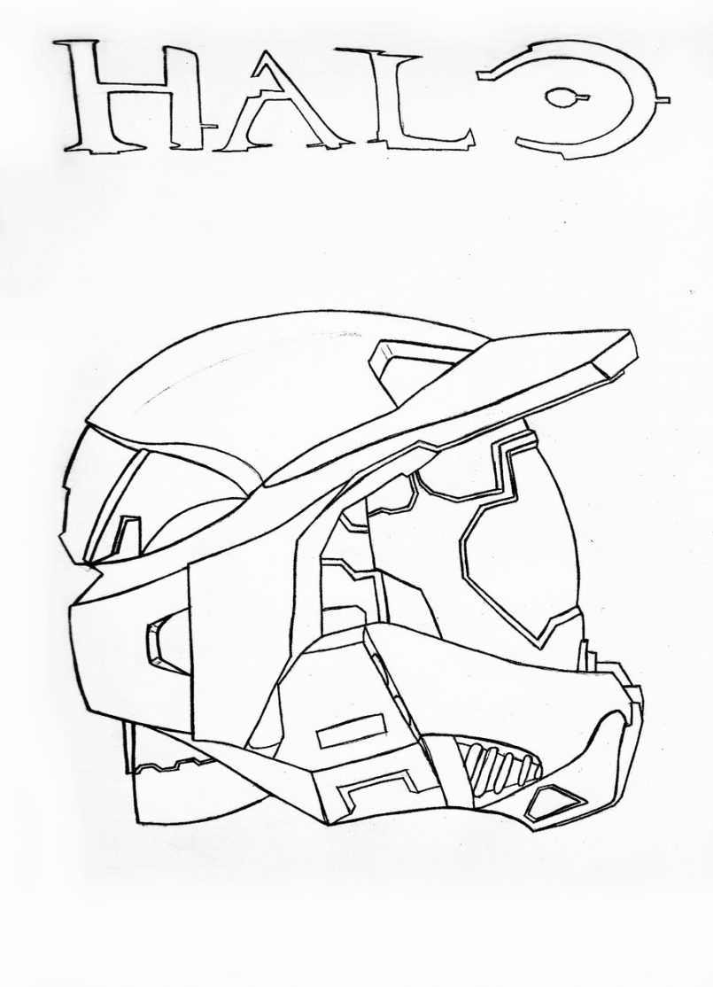 805x1114 Themes How To Draw Master Chief Halo 5 Plus Halo 4 Master Chief