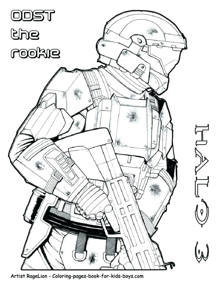 742x960 Halo Coloring Pages Affan