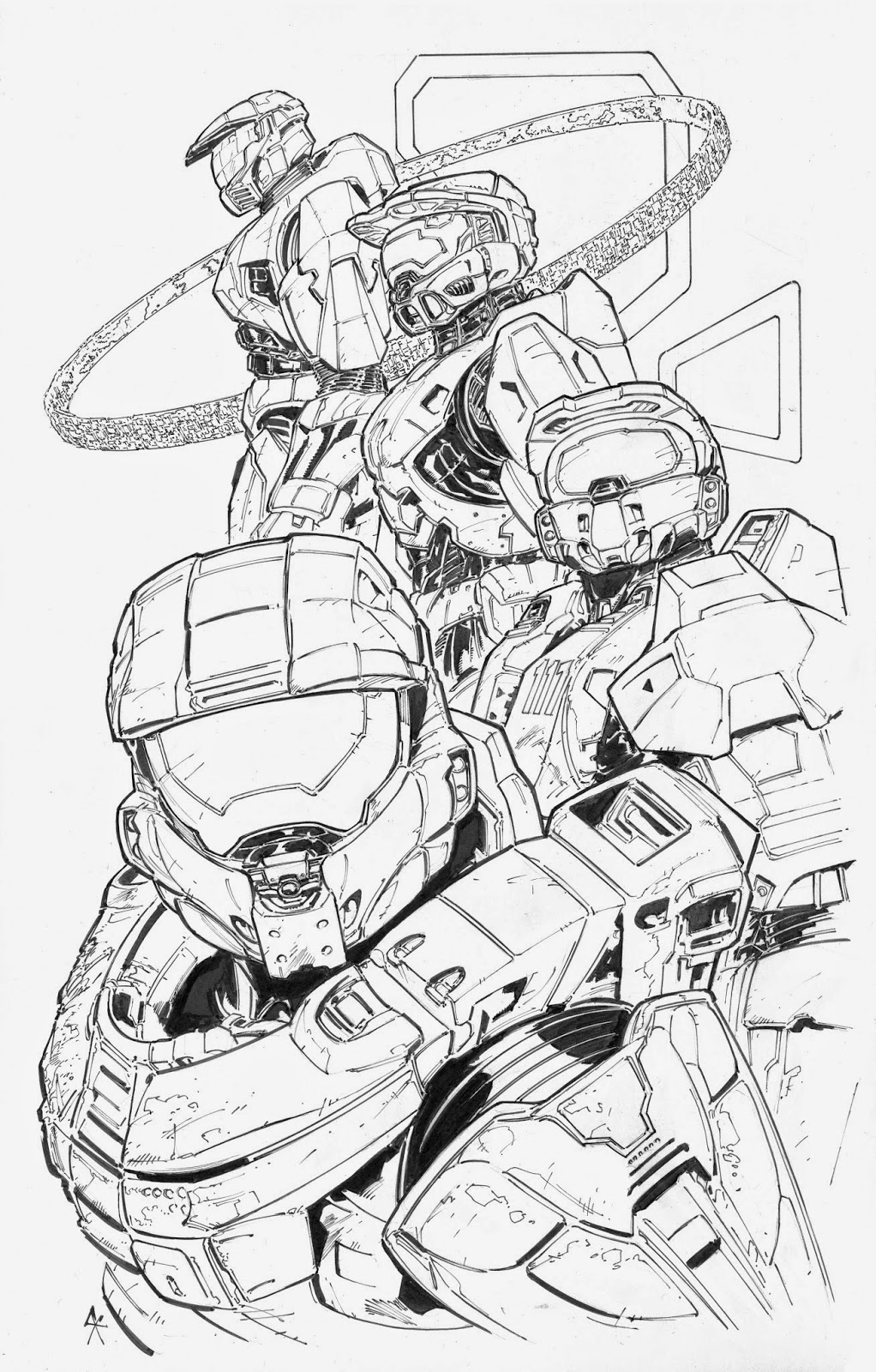 1022x1600 Halo, The Master Chief, Iterations. Original Master Chief, Halo 2