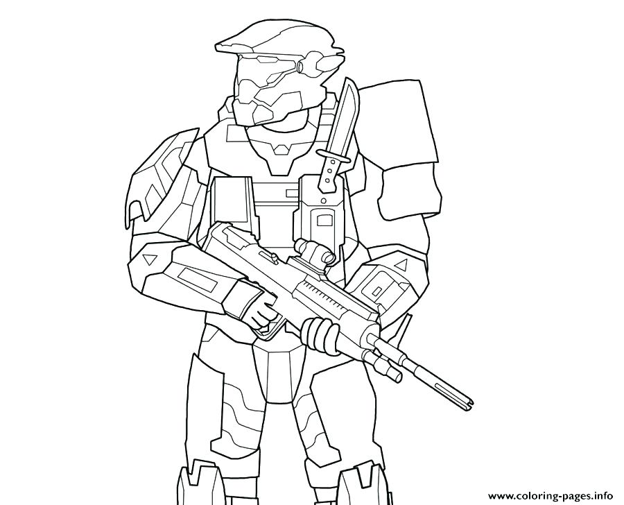 900x728 Halo 4 Master Chief Coloring Pages Book Reach On Page H M