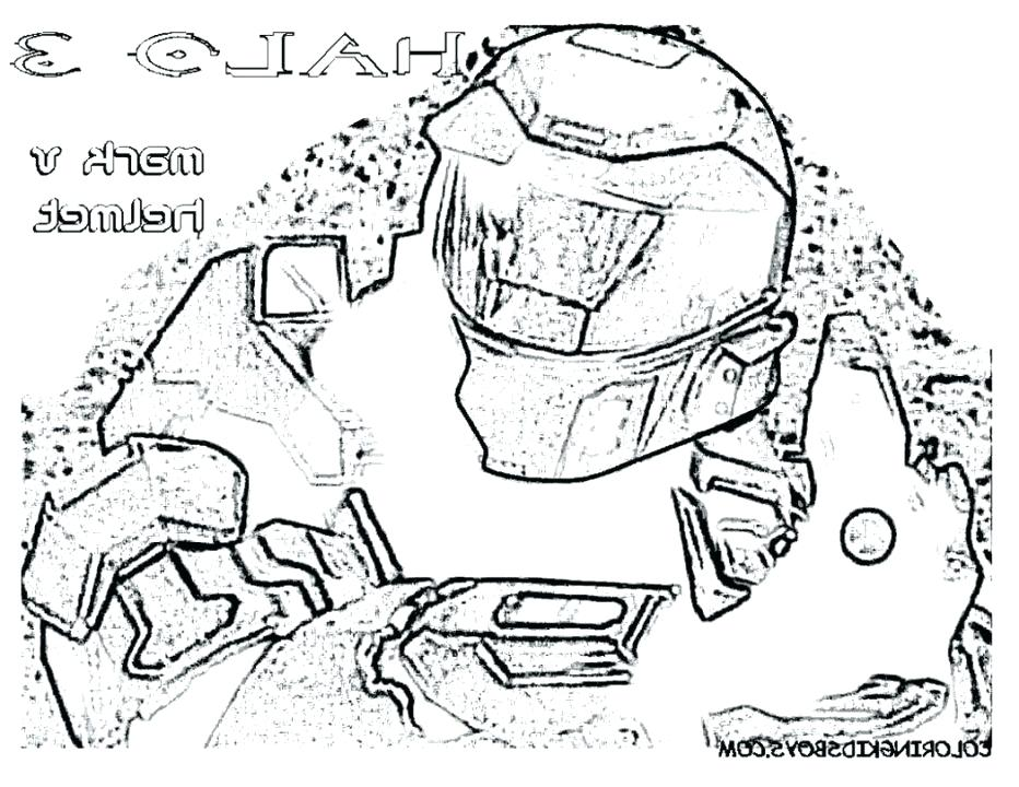 932x720 Halo Master Chief Coloring Pages Appealing Halo Master Chief