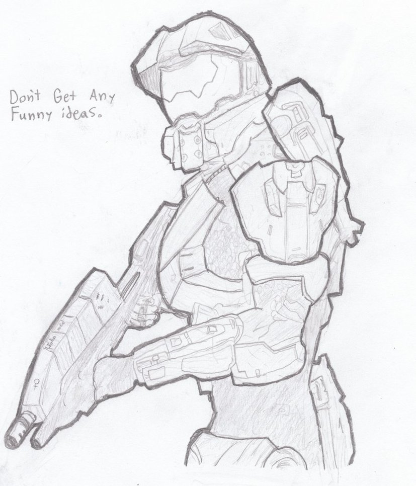 827x966 Master Chief By Pet My Head