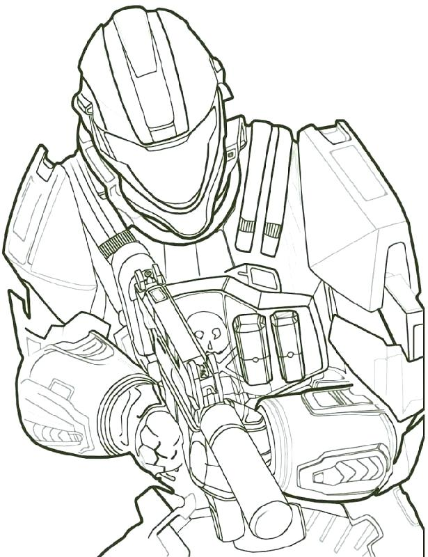 615x800 Halo Coloring Pages Free Online Halo Coloring Pages For Kids Halo