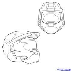 236x236 Halo Game Drawing Droings Of Halo